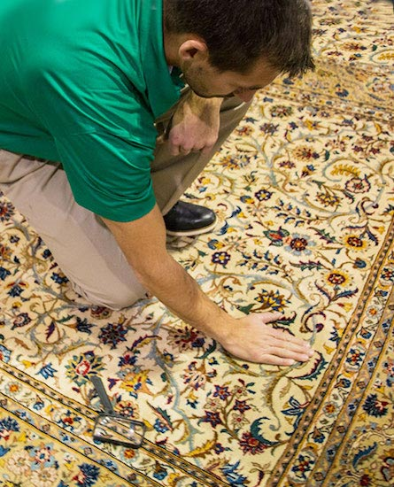 Professional Area and Oriental Rug Cleaning by A+ Chem-Dry in Merced Ca