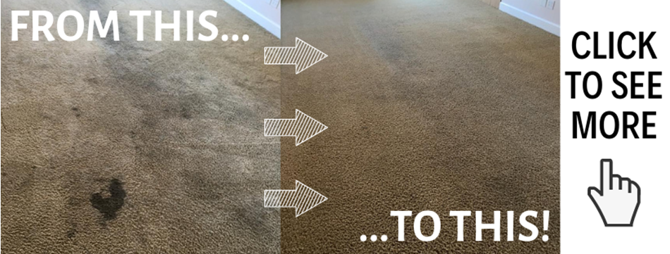before and after carpet cleaning images in Merced CA