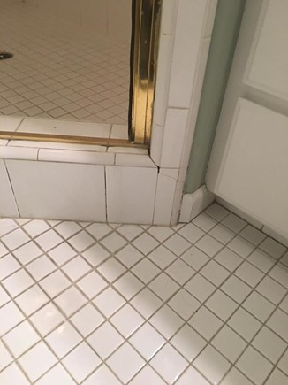 before image of bathroom tile in Merced Ca