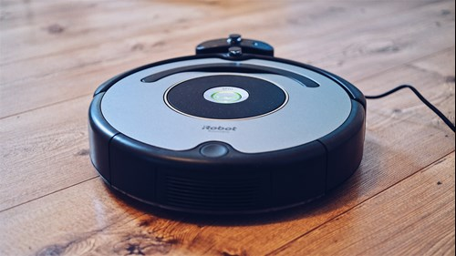 carpet robot vacuum in a living room in Merced CA